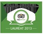 Certificat d'Excellence - Lauréat 2013 Couleur Café