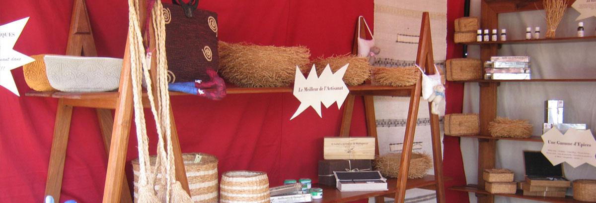 Boutique d'artisanat - Couleur Café Antsirabe
